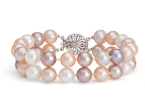 Multicolored Freshwater Cultured Pearl Bracelet