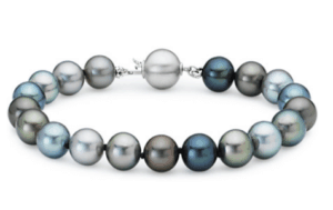 Multi-Color Tahitian Cultured Pearl Bracelet