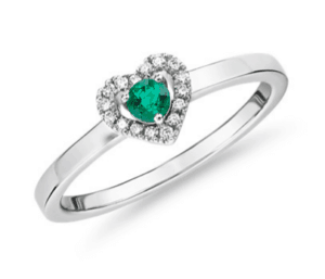 Look of a promise ring