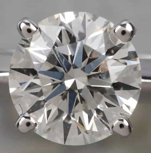 J color, SI2 clarity, Excellent cut GIA certified round diamond