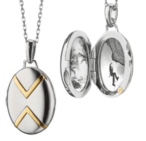 Silver/Yellow Gold Locket from Blue Nile