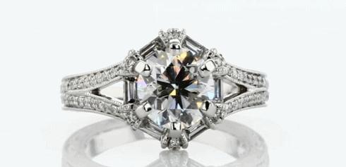 1.50ct Vintage Engagement RIng